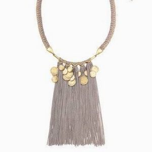 Stella & Dot Samar fringe necklace. NWT in box